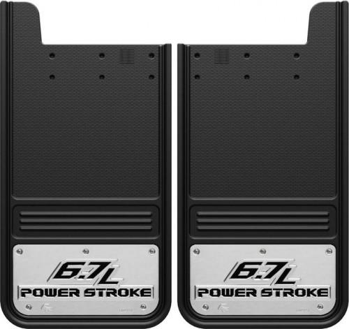 Truck Hardware - Truck Hardware Gatorback 6.7L Powerstroke mudflaps GA1226P-2