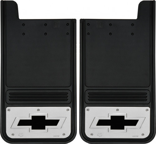 Truck Hardware - Truck Hardware Gatorback BOWTIE Mudflaps GB1223BT-B