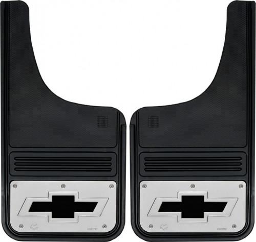 Truck Hardware - Truck Hardware Gatorback BOWTIE Mudflaps GB1223CUTBT-B