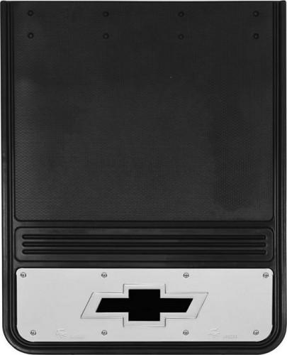 Truck Hardware - Truck Hardware Gatorback BOWTIE Dually Mudflaps GB1924BT-B