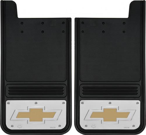 Truck Hardware - Truck Hardware Gatorback BOWTIE Mudflaps GB1223BT-G