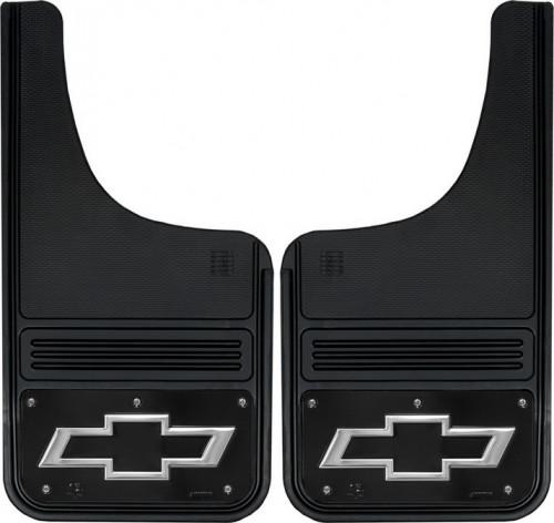 Truck Hardware - Truck Hardware Gatorback BOWTIE Mudflaps GB1223CUTBT-FULL
