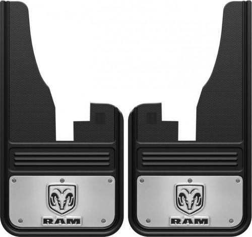 Truck Hardware - Truck Hardware Gatorback RAM mudflaps GB1223C09RV