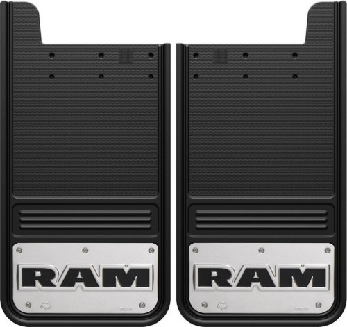 Truck Hardware - Truck Hardware Gatorback RAM mudflaps GB1223RT