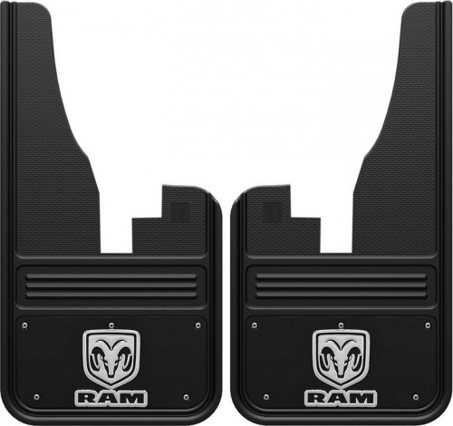 Truck Hardware - Truck Hardware Gatorback RAM mudflaps GB1223C09RV-FULL