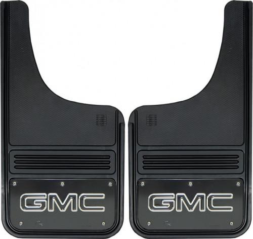 Truck Hardware - Truck Hardware Gatorback GMC Mudflaps GB1223CUTG-FULL