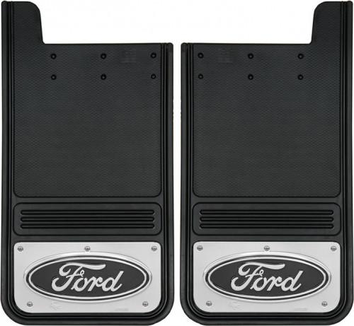 Truck Hardware - Truck Hardware Gatorback Ford Oval Mudflaps GB1223F-B