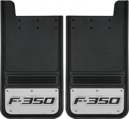 Truck Hardware - Truck Hardware Gatorback Ford F350 Mudflaps GB1223F350