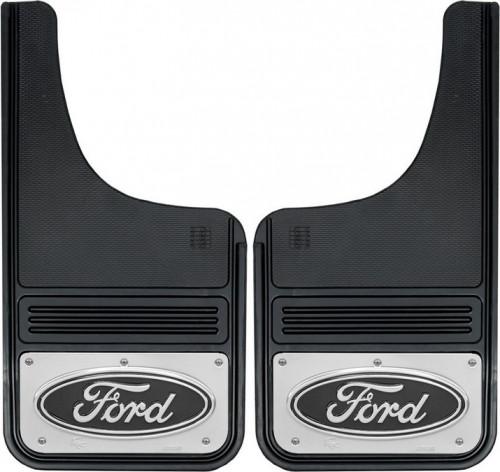 Truck Hardware - Truck Hardware Gatorback Ford Oval Mudflaps GB1223CUTF-B