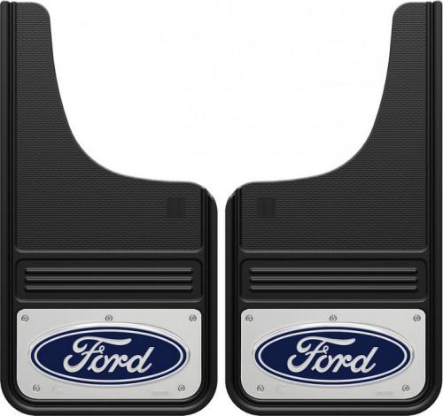 Truck Hardware - Truck Hardware Gatorback Ford Oval Mudflaps GA1223CUTF-C