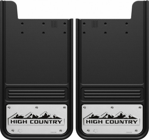 Truck Hardware - Truck Hardware Gatorback HIGH COUNTRY mudflaps GB1223HCB