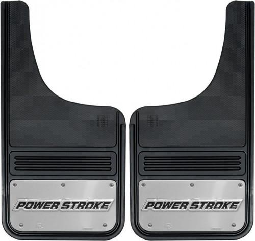 Truck Hardware - Truck Hardware Gatorback POWERSTROKE Mudflaps GB1223CUTP