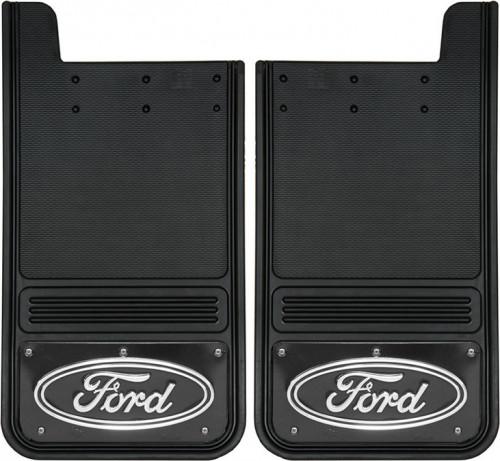 Truck Hardware - Truck Hardware Gatorback Ford Oval Mudflaps GB1223F-FULL