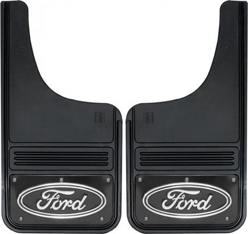 Truck Hardware - Truck Hardware Gatorback Ford Oval Mudflaps GB1223CUTF-FULL