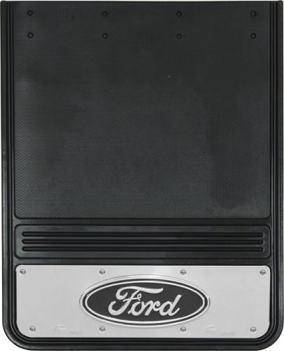Truck Hardware - Truck Hardware Gatorback Ford Oval Mudflaps GB1924F-B