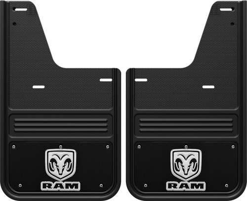 Truck Hardware - Gatorback No Drill RAM Rear Mud Flaps